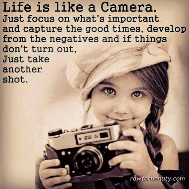 How a photographer looks at life;-)